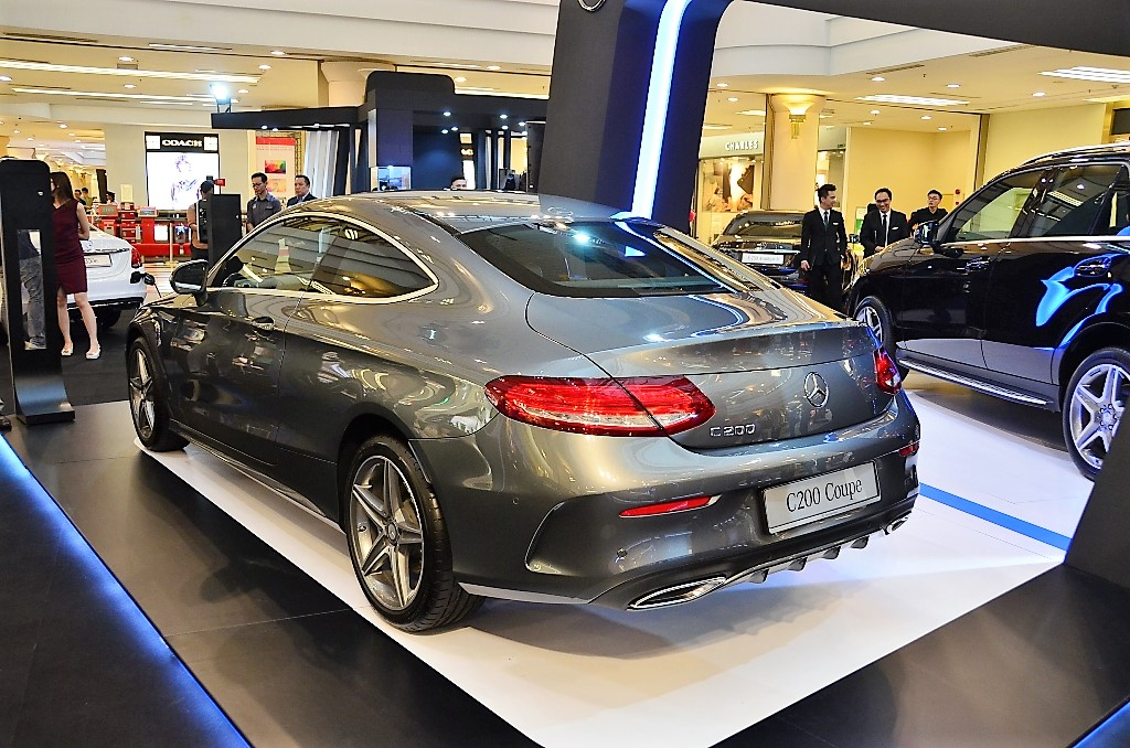 Mercedes benz malaysia records double digit growth for q1 for Mercedes benz coupes list