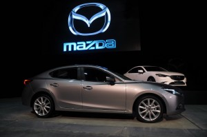 Mazda 3 With G-Vectoring Control Side View, Malaysia Launch 2017