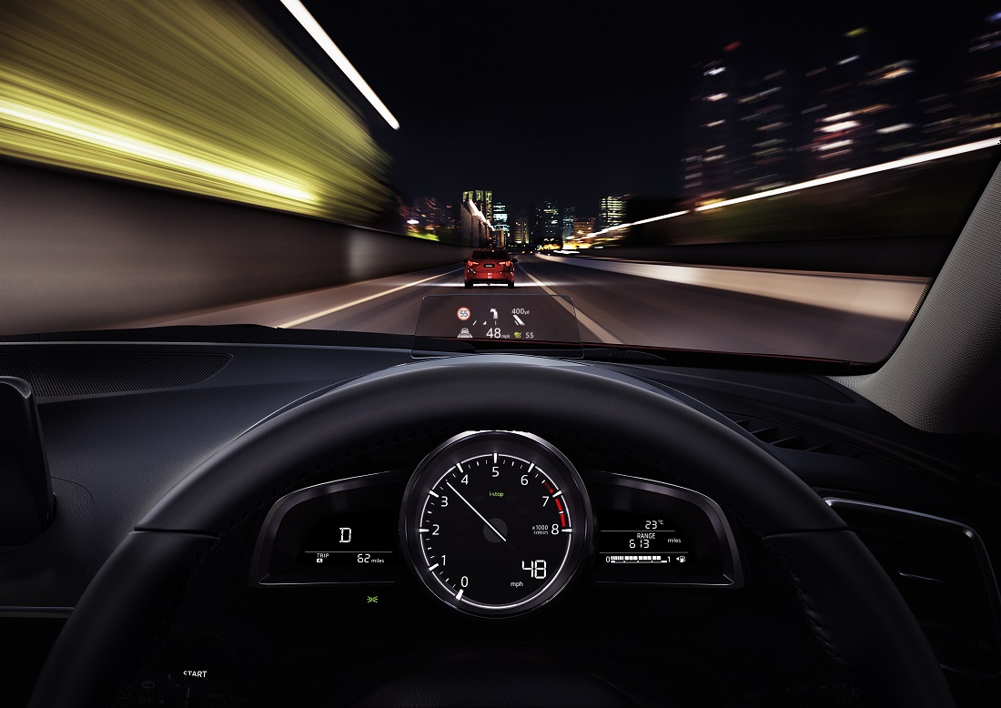 Mazda3 Gvc Details Active Driving Display Head Up Display