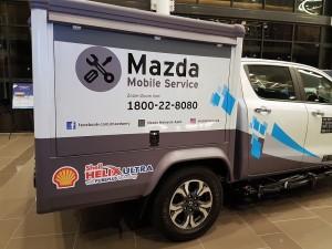 Mazda Mobile Service Unit Malaysia