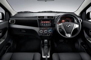 Perodua Bezza Premium & Advance dashboard - Malaysia 2017
