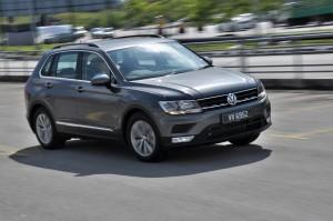 VW Tiguan 1.4 TSI  Media Drive Malaysia, Comfortline