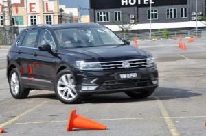 VW Tiguan 1.4 TSI Highline Ipoh, Malaysia Media Drive 2017