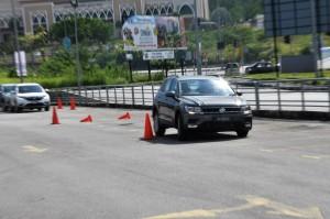 VW Tiguan Slalom Malaysia Media Drive 2017