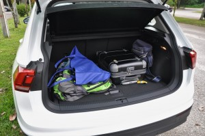 Volkswagen Tiguan Boot Space, Malaysia 2017