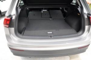 VW Tiguan Rear Seats Folded, Malaysia 2017