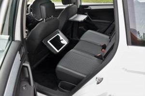 Volkswagen Tiguan 1.4 TSI Rear Tray Table With Tablet, Malaysia 2017