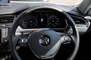 VW Tiguan 1.4 TSI Highline Steering Wheel, Malaysia 2017