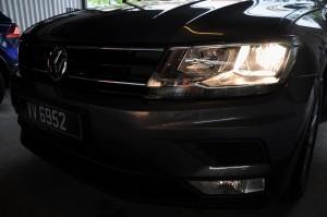 VW Tiguan Comfortline Headlamp, Malaysia 2017