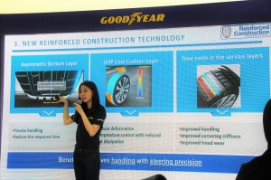 Goodyear Eagle F1 Asymmetric Launch, Lim Jia Yuen Consumer Product Manager, Goodyear Malaysia