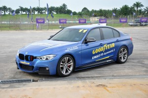 Goodyear Eagle F1 Asymmetric 3 Launch Demonstration, BMW, Malaysia