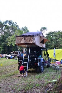 Another roof tent.