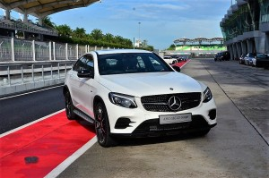 Mercedes AMG GLC 43 Coupe, Front view YSK_5911
