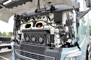 Volvo FH Series Truck Engine Bay, Malaysia