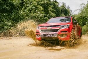 Petron Fuel Happy Road Trip 2017, Turbo Euro 5 Diesel, Chevrolet Colorado, Malaysia