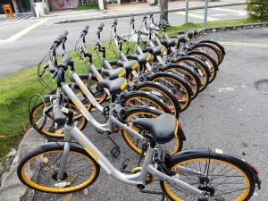 oBike bicycle-sharing app, Malaysia
