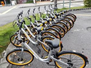 oBike bicycle-sharing app, Malaysia