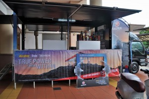 Caltex Fun Truck, True Power From Within Transformers The Last Knight Promotion, Malaysia