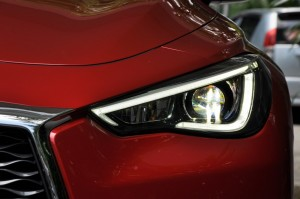 Infiniti Q60 LED Headlamp, Malaysia Media Drive 2017