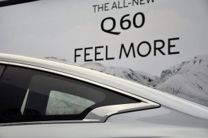 Infiniti Q60 Majestic White Crescent Cut C-Pillar, Malaysia Launch 2017
