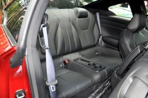 Infiniti Q60 Rear Seats, Malaysia Media Drive 2017