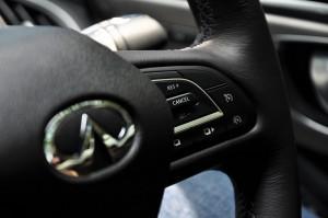Infiniti Q60 Steering Wheel, Malaysia Media Drive 2017