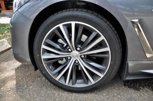 Infiniti Q60 Wheel, Malaysia Media Drive 2017