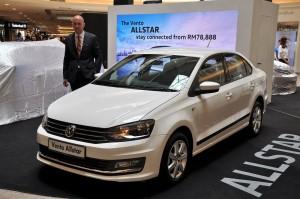 Volkswagen Vento ALLSTAR Launch Malaysia 2017, Erik Winter VPCM