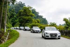 Audi A4 1.4 TFSI Malaysia Media Drive 2017