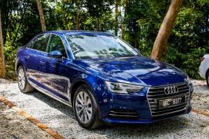 Audi A4 1.4 TFSI Scuba Blue, Malaysia 2017