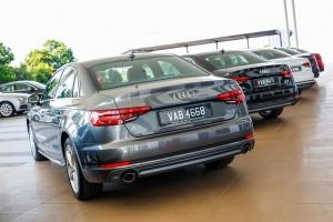 Audi A4 2.0 TFSI Quattro Rear View Malaysia IntenCity Roadshow