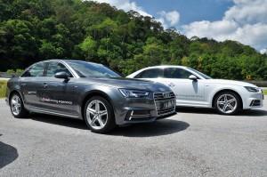 Audi A4 2.0 TFSI Quattro Malaysia Media Drive 2017 Rest Stop