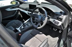 Audi A4 2.0 TFSI Quattro Interior, Malaysia Media Drive 2017