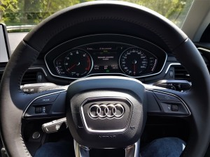 Audi A4 1.4 TFSI Steering Wheel, Malaysia Media Drive 2017