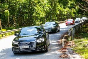 Audi A4 2.0 TFSI Quattro, Malaysia Media Drive 2017