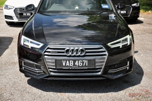 Audi A4 2.0 TFSI Quattro Front, Malaysia Media Drive 2017