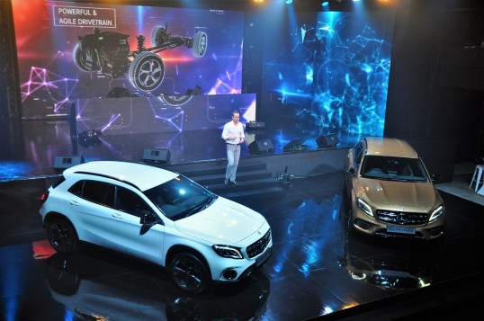 Mercedes-Benz Malaysia Launches GLA Facelift