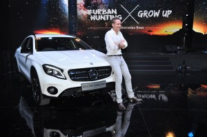 Mercedes-Benz GLA 200 Urban Line Malaysia Launch 2017, Mark Raine