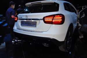 Mercedes-Benz GLA 200 Urban Line Rear Malaysia Launch 2017