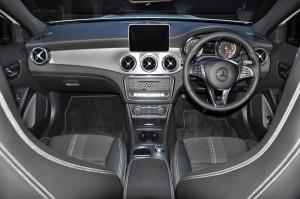Mercedes-Benz GLA 200 Urban Line Interior, Malaysia 2017