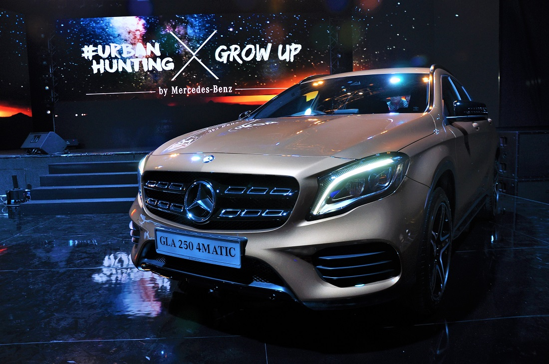 Mercedes benz gla 250 4matic amg line malaysia launch for Mercedes benz gla 250 2017