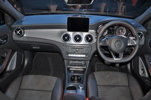 Mercedes-Benz GLA 250 4MATIC AMG Line Interior, Malaysia 2017