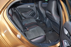 Mercedes-Benz GLA 250 4MATIC AMG Line Rear Seats, Malaysia 2017