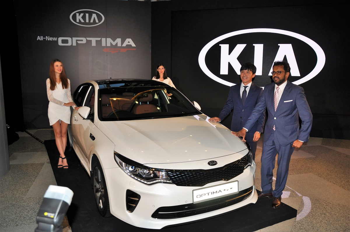 The Kia Optima Gt Now Available In Malaysia