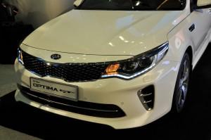 Kia Optima GT Front Malaysia 2017