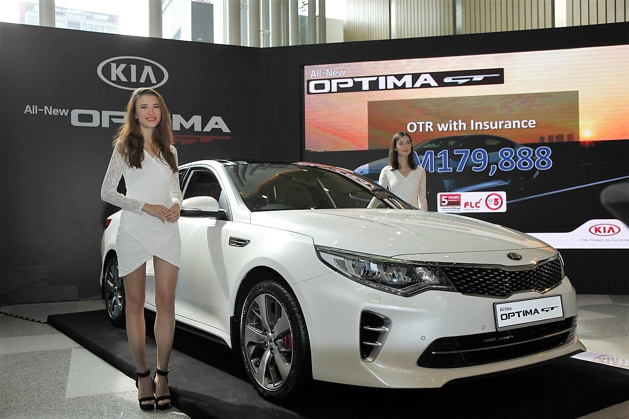 All New Kia Optima Gt Launch Malaysia 2017