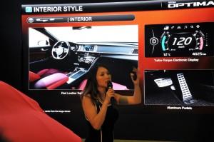 Kia Optima GT Launch 2017, Malaysia, Julie Woon