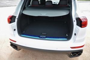 Porsche Cayenne Platinum Edition Boot Space Malaysia 2017