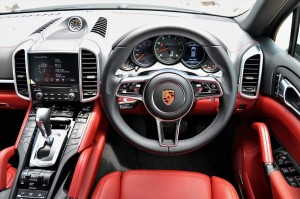 Porsche Cayenne Platinum Edition Cockpit Malaysia Test Drive 2017