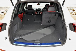 Porsche Cayenne Platinum Edition Folded Rear Seat Malaysia